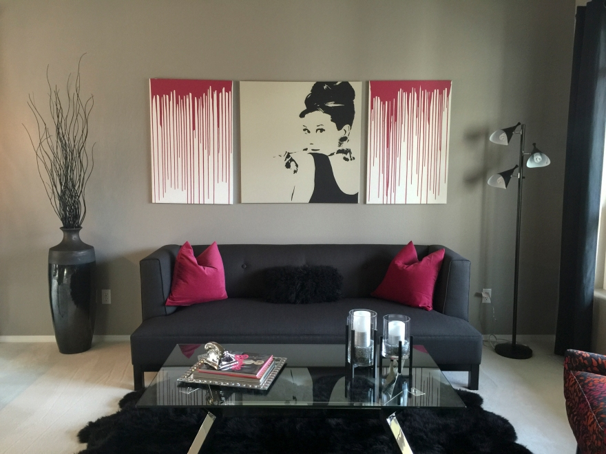 Modern Glam Living Room