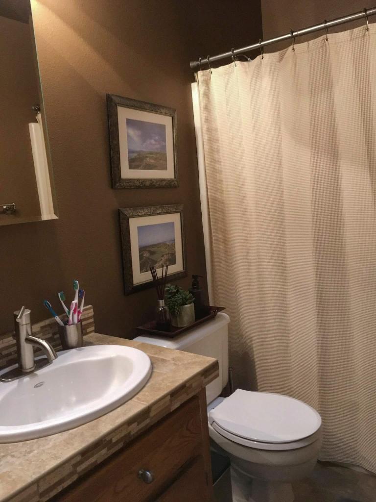 Bathroom Update After
