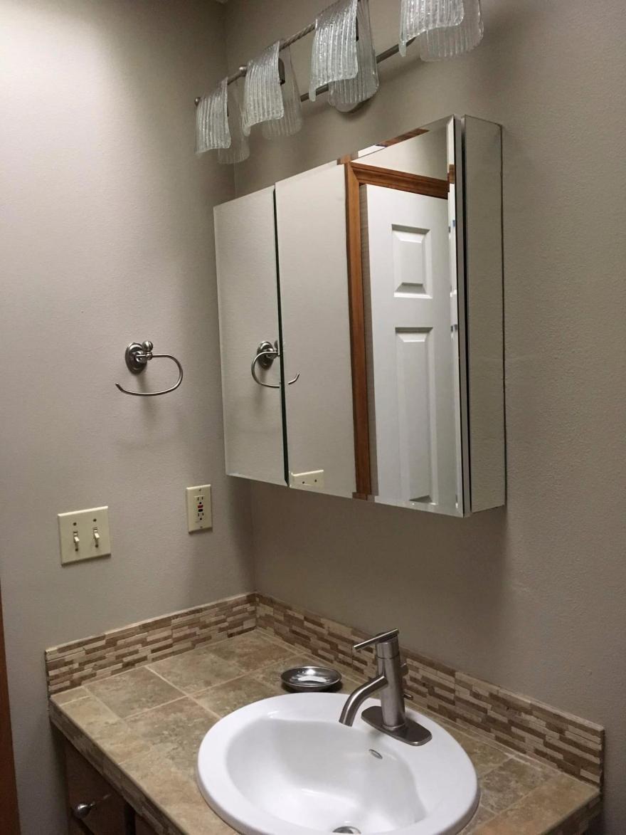 Bathroom Update Before